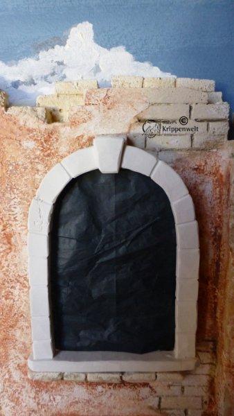 Fensterbogen für den Krippenbau