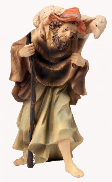 Krippenfigur aus Polystone - Schäfer