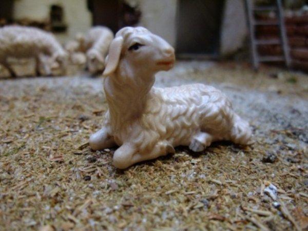 geschnitzte Krippenfiguren von DEUR aus dem Grödnertal