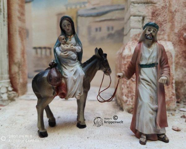die heilige Familie auf der Flucht
