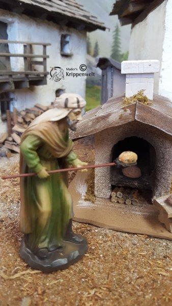 Bäcker als Krippenfigur