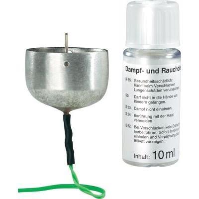 Krippenelektrik Rauchset mit Zinnkessel