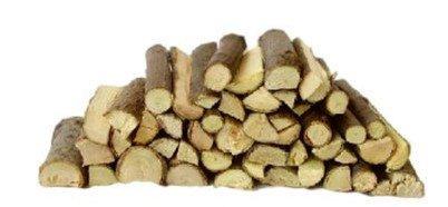 Holzscheite als Krippenzubehör