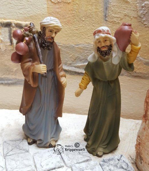 schöne orientalische Krippenfiguren