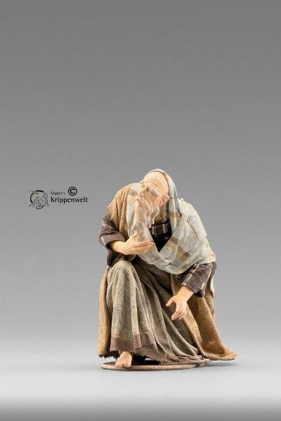Hirte kniend als Krippenfigur von der Immanuel Krippe von Heide