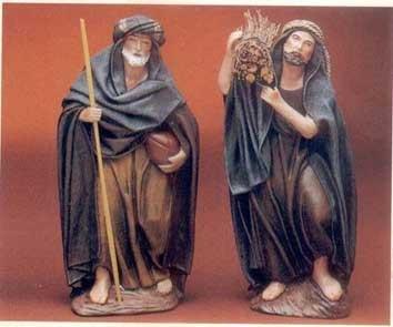 Krippenfigurren von Belenes Puig aus Spanien