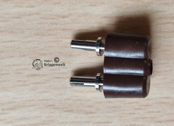 Krippenbeleuchtung Stecker 8mm