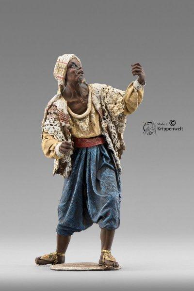 Dromedar Treiber als Krippenfigur von Original Heide