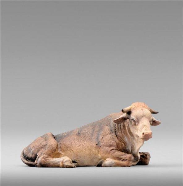 liegende Ochs als Krippenfiguren - Tiere  passend für die Heide Krippen