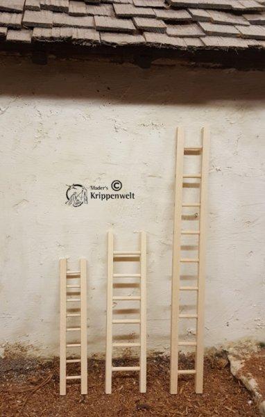 Holzleiter gerade als Krippenzubehör