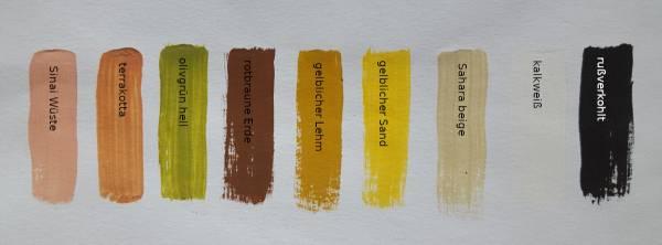 Farben - 9er Set Acryl für orientalische Krippen