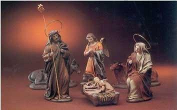 Krippenfiguren von Puig aus Spanien