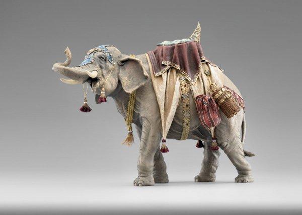 bepackter Elefant als Krippentier passend für die Heide Krippen