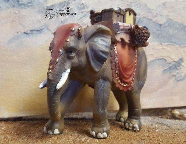 Krippenfigur aus Polystone - Elefant