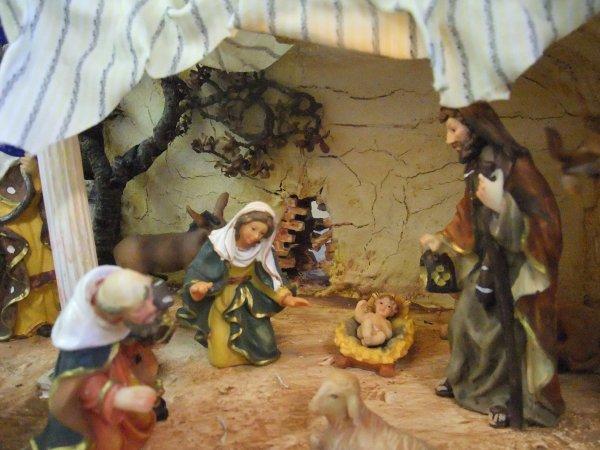 Weihnachtskrippenfiguren aus Polystone