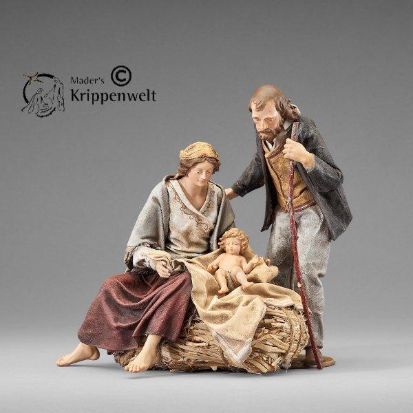 heilige Familie als Krippenfigur von der Rustika Krippe von Heide