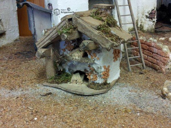 Backhaus für den Krippenbau
