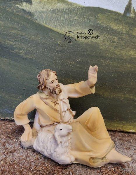 schöne Einzelfigur aus Polystone für ihr Krippenfigurenset