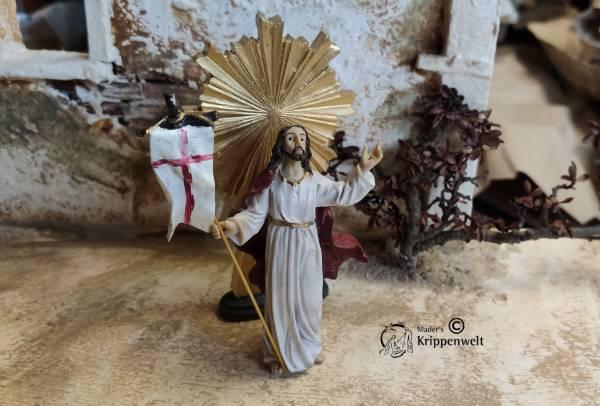 Krippenfiguren aus Kunstharz Passionskrippe die Auferstehung