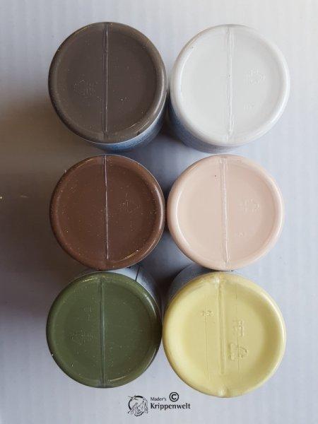 Farben - 9er Set Acryl für heimatliche Krippen