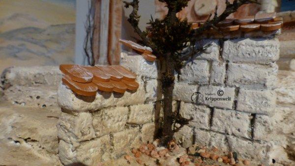 Biberschwanz für den Krippenbau