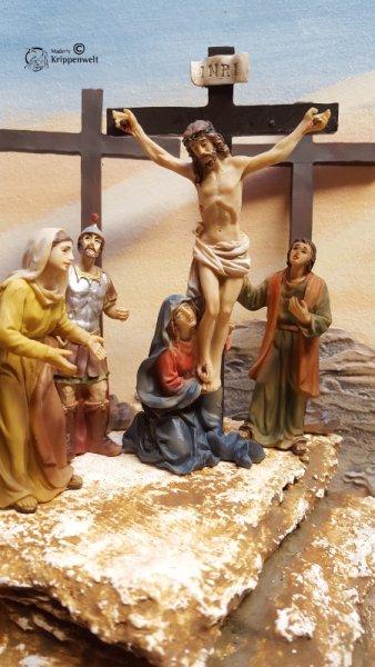 Kreuzigung als Passionsfiguren