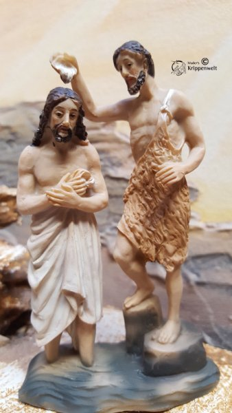 Passionsfigur Taufe Jesu