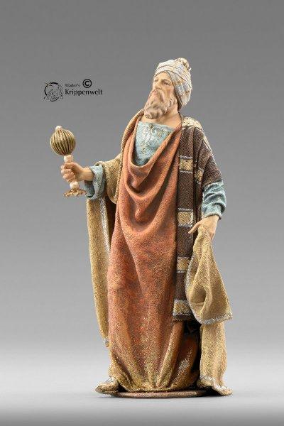 weiße heilige König als Krippenfigur von der Immanuel Krippe