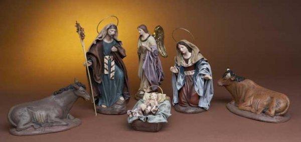 Krippenfiguren von Belenes Puig aus Spanien